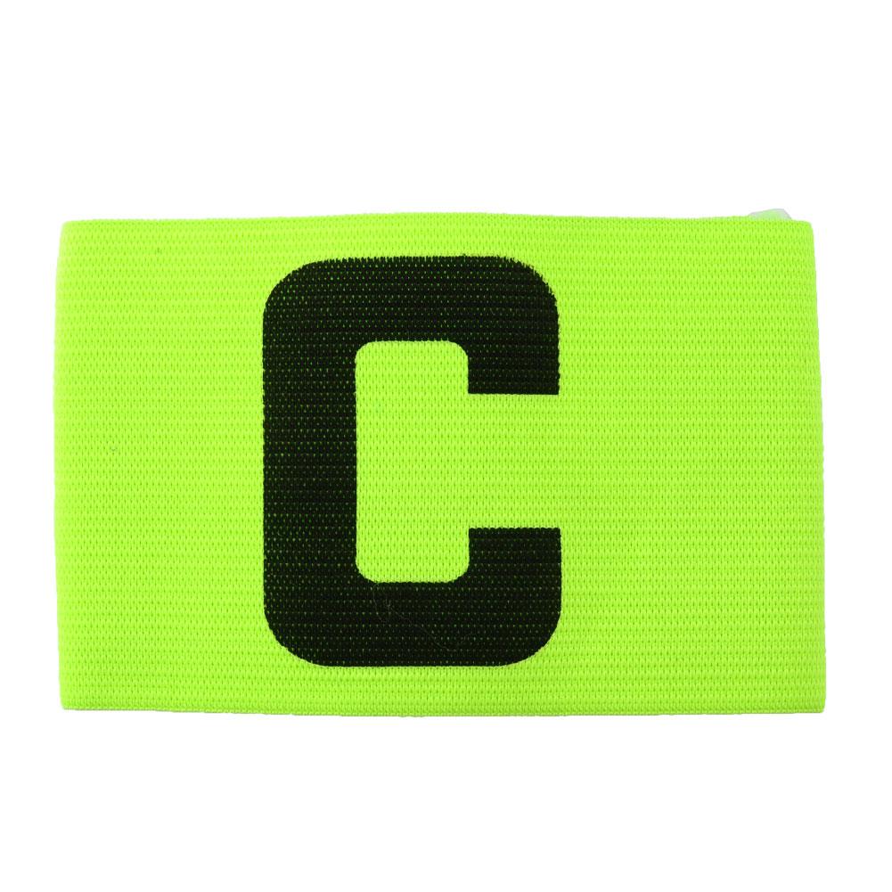3881-Football-Soccer-Sports-Adjustable-Player-Arm-Fluorescent-Captain-Armband