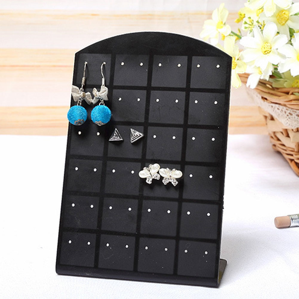 0C54-New-Fashion-48-Earrings-Ear-Studs-Display-Stand-Organizer-Holder-Showcase
