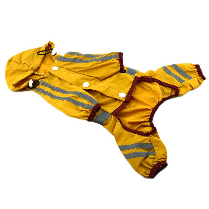 4147-Pet-Dog-Cool-Raincoat-Glisten-Bar-Hoody-Waterproof-Lovely-Coat-Clothes