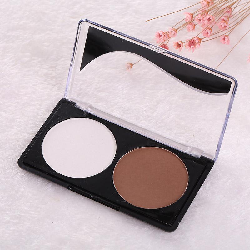 3CA1-2Colors-Contour-Shading-Face-Powder-Concealer-Palette-Foundation-Makeup