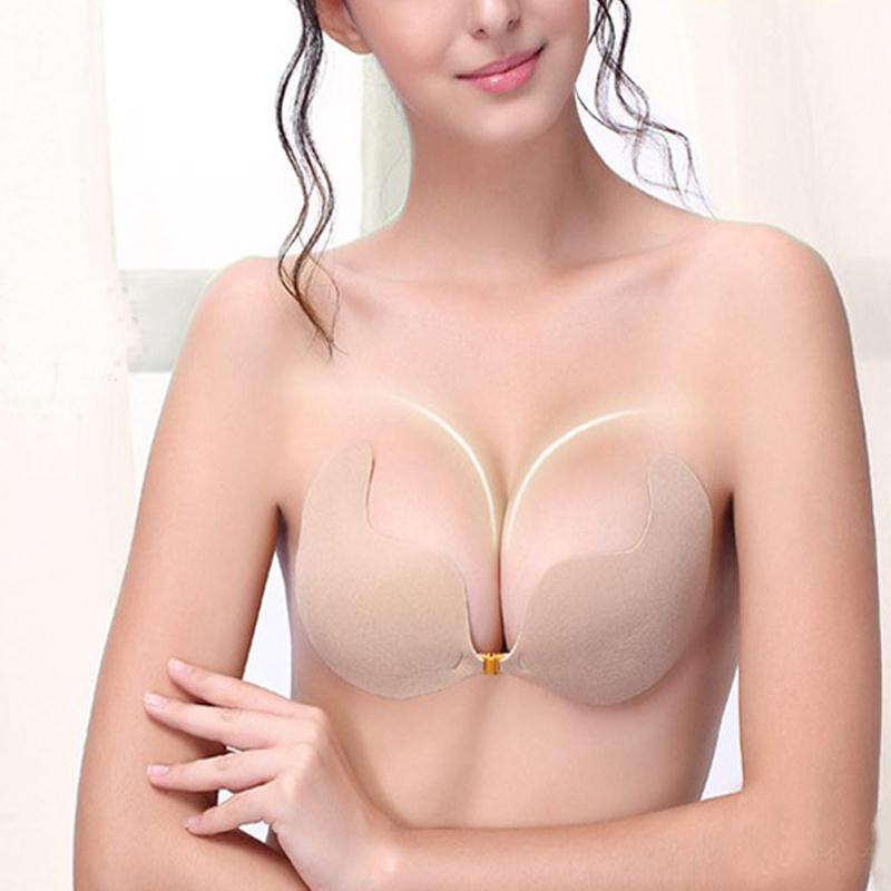 F07C-New-Complexion-Silicone-Self-Adhesive-Strapless-Invisible-Bras-Wedding