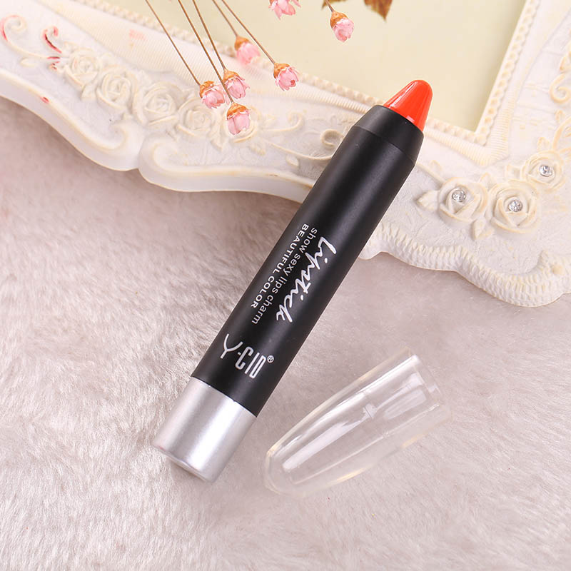 E749-Fashion-Women-6-Color-Waterproof-Soft-Crayon-Lipstick-Lip-Gloss-Lip-Pen