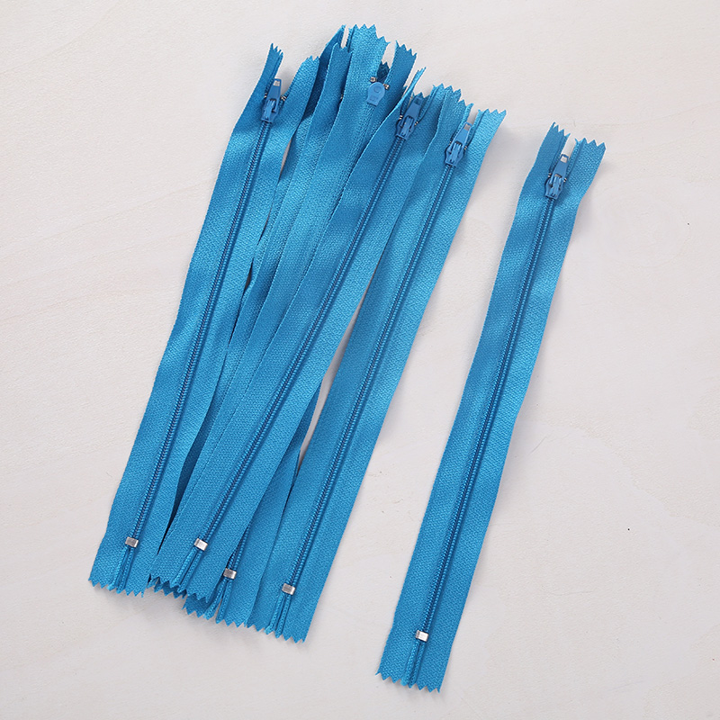 6BBB-10pcs-20cm-Red-Black-Blue-Nylon-Coil-Zippers-Tailor-Sewer-Sewing-Garment