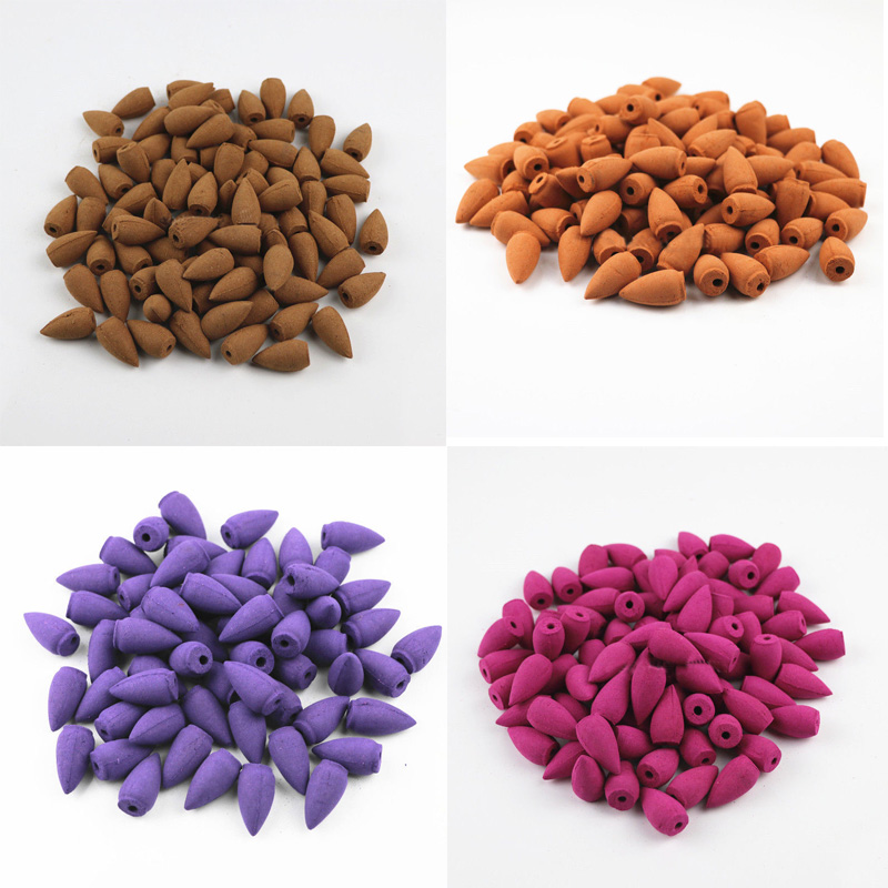 F89F-20pcs-Natural-Smoke-Tower-Bullet-Backflow-Incense-Home-Fragrances-Lavender