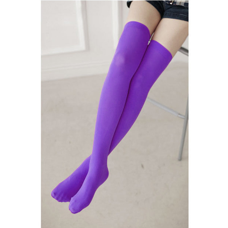 E614-Womens-Lady-Girls-Long-Socks-Over-Knee-High-Stockings-Japan-Style-New-Sexy