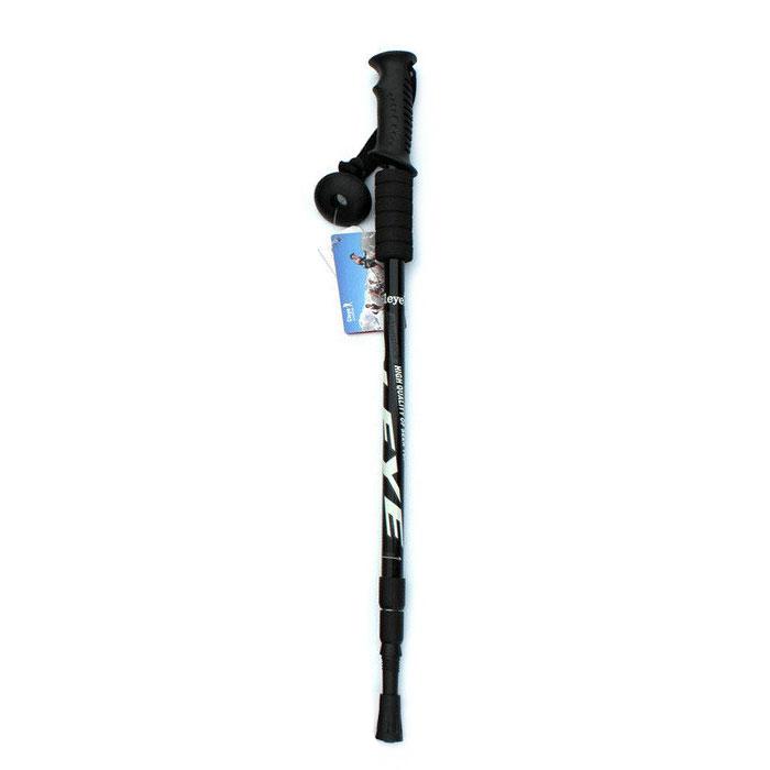 9746-110cm-Trekking-Poles-Walking-Stick-3-Section-Camping-Hiking-Alpenstocks