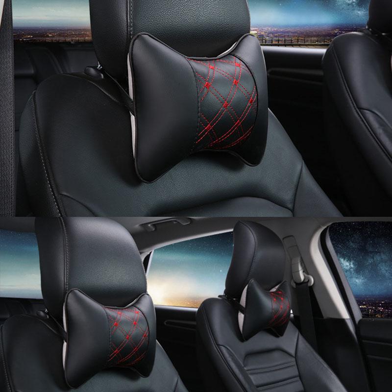 94C1-Health-Car-Headrest-Foam-Travel-Pillow-Head-Neck-Support-Cushion-Safety