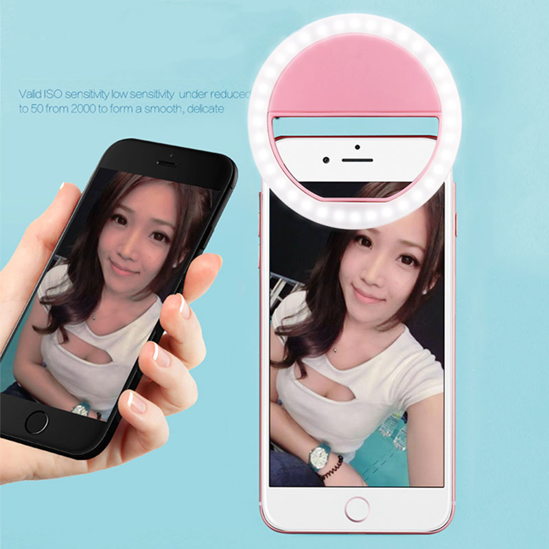 EA7F-USB-Selfie-Fill-Light-Flash-Ring-LED-Clip-Camera-Photo-For-Phone-Bright