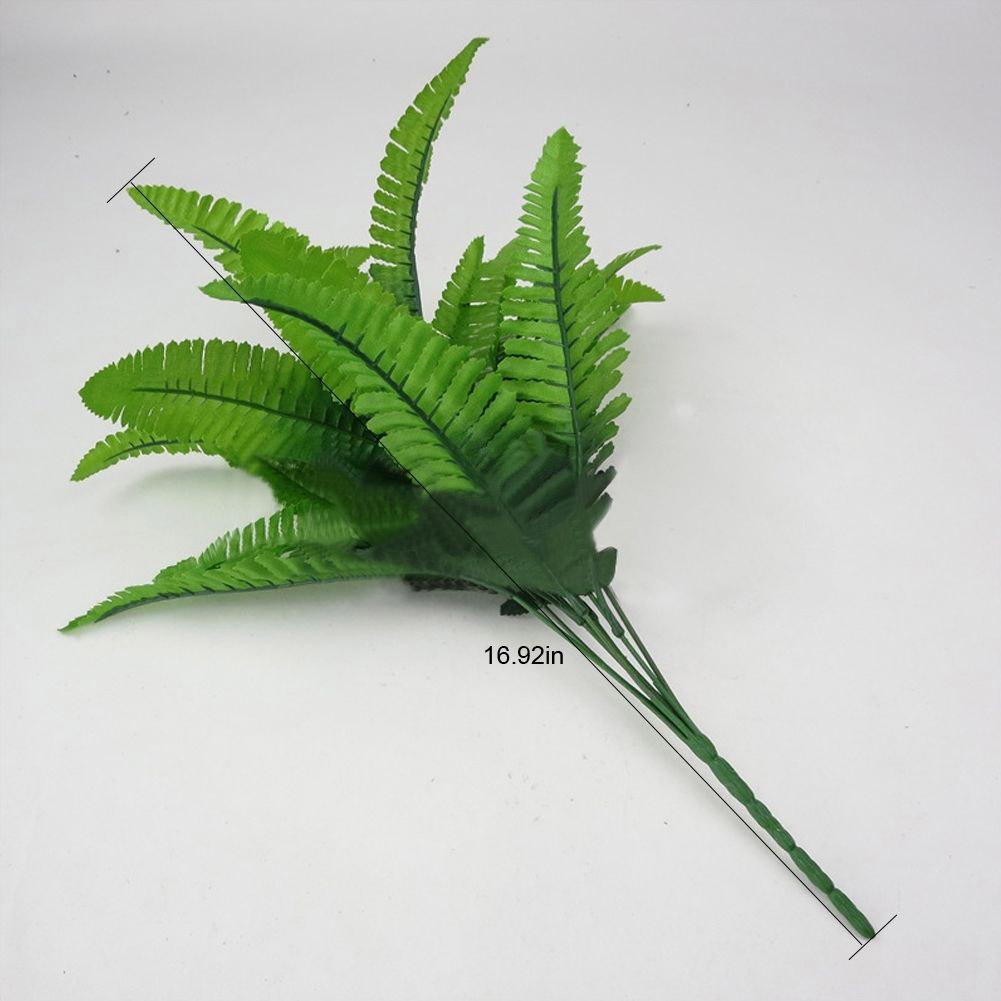 95B4-Artificial-Plants-Outdoor-Fake-Flower-Leaf-Bush-Home-Office-Garden-Decor