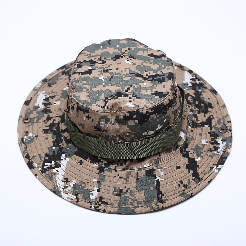 55DD-Men-Bucket-Hat-Boonie-Hunting-Fishing-Cap-Washed-Cotton-Military-Sun-Camo