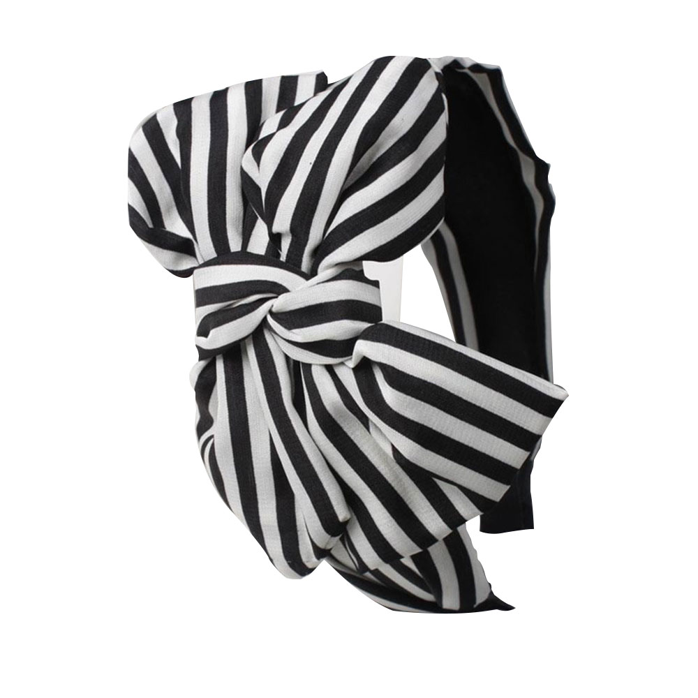 8B74-Girls-Sweet-Big-Bow-Towel-Hair-Band-Wrap-Accessory-HeadBand-Up-Bath-Spa