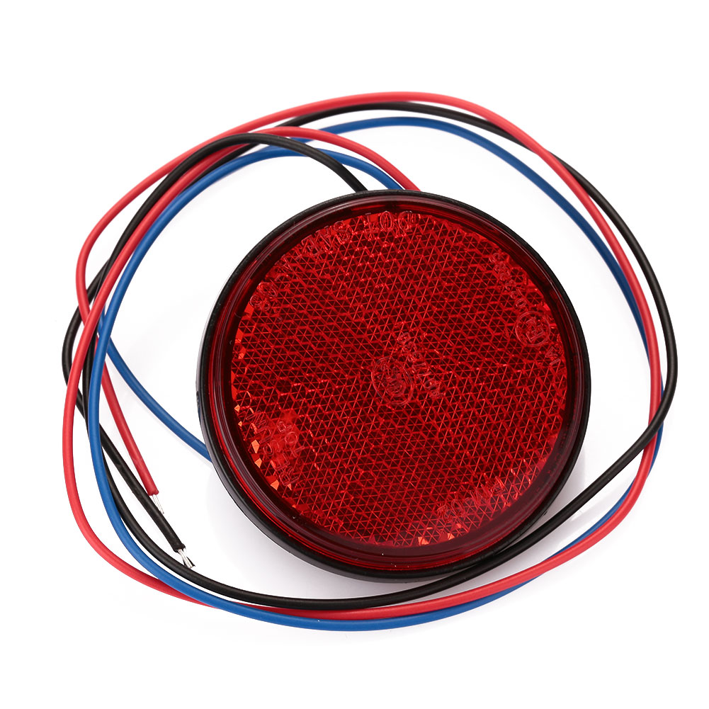 9A9C-Round-Reflector-Motorcycle-Clear-Lens-LED-License-Plate-Tail-Brake-Light