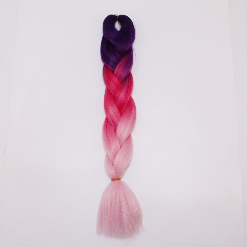 A4D9-24inch-Synthetic-Hair-Extension-Braiding-Hair-Braids-Straight-For-Female