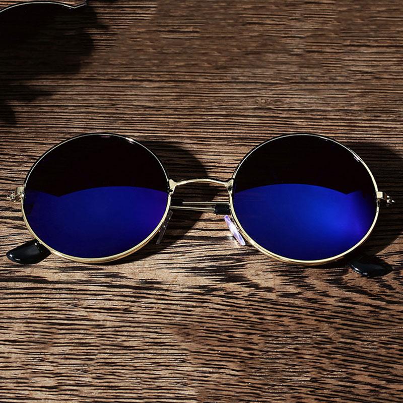 93CC-Men-Women-Retro-Vintage-Round-Mirrored-Sunglasses-Eyewear-Outdoor-Glasses
