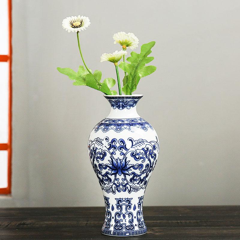 D940-Wall-Mounted-Ceramic-Flower-Vases-Antique-Porcelain-Vase-Home-Decoration
