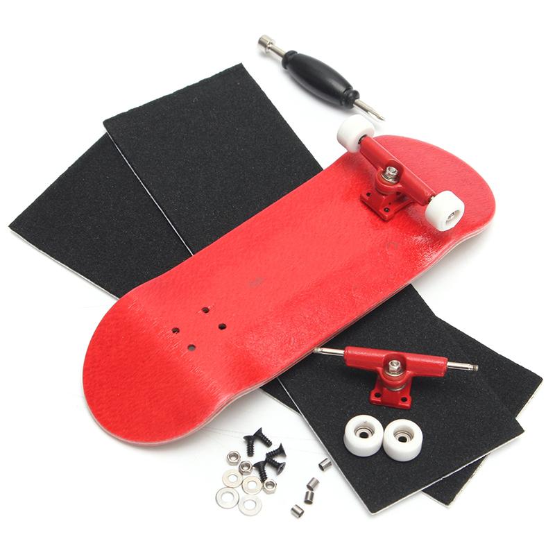 E766-Creative-Complete-Wooden-Fingerboard-Finger-Skate-Board-Grit-Wood-Colours