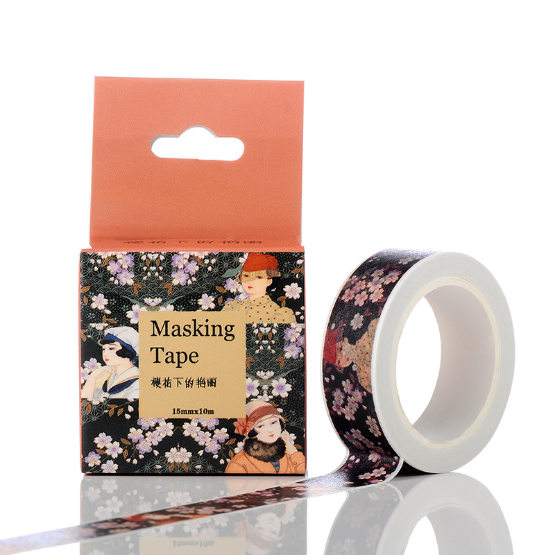 4FEF-10M-Adhesive-Cartoon-Washi-Masking-PVC-Tape-Sticker-Craft-Decor-Universal
