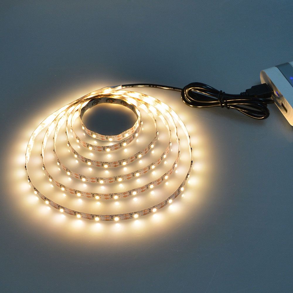 0B94-LED-Strip-Light-Bar-Decorative-Lighting-1M-3528-SMD-DC5V-Household-Supply