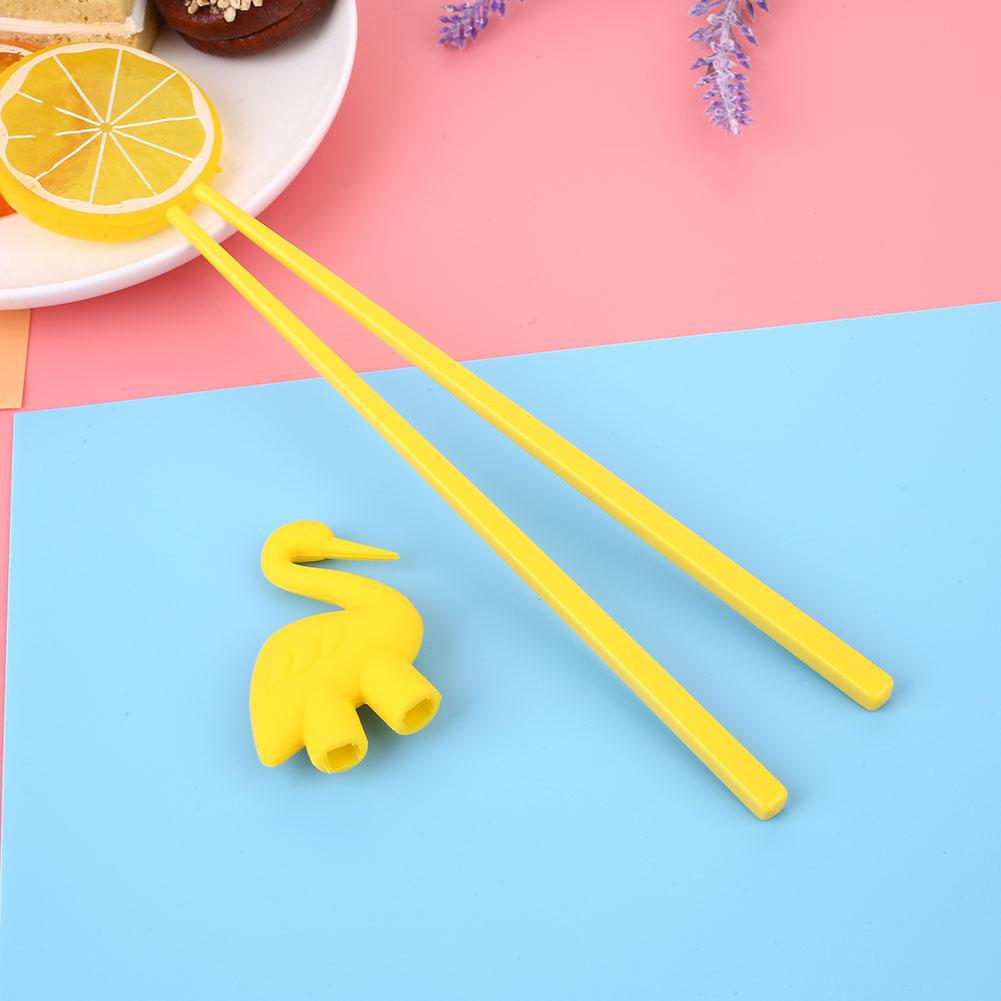 D4D3-1-Pair-Kids-Children-Helper-Learning-Trainers-Bird-Fun-Chopsticks-Gift