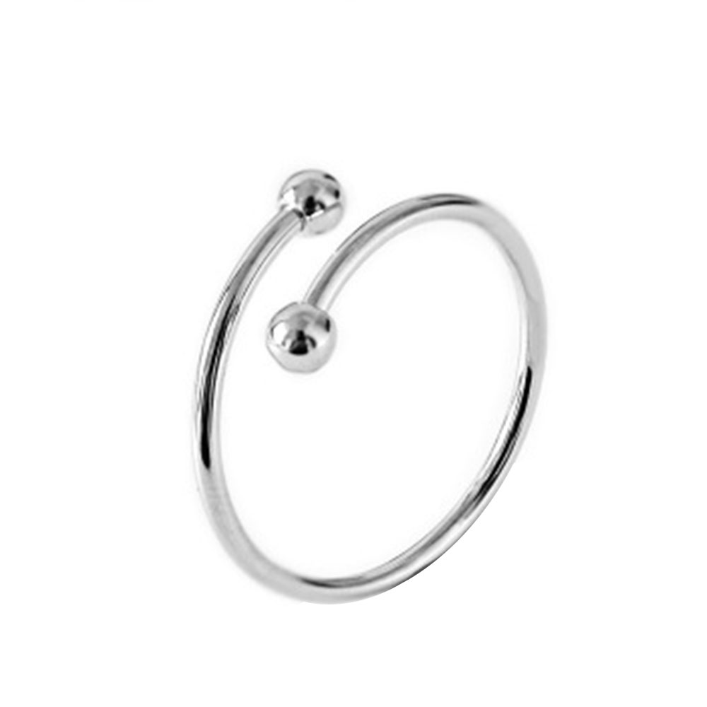 D834-Simple-Bead-Mini-Ball-Openings-Rings-Elegant-Jewelry-Gold-Silver-Black