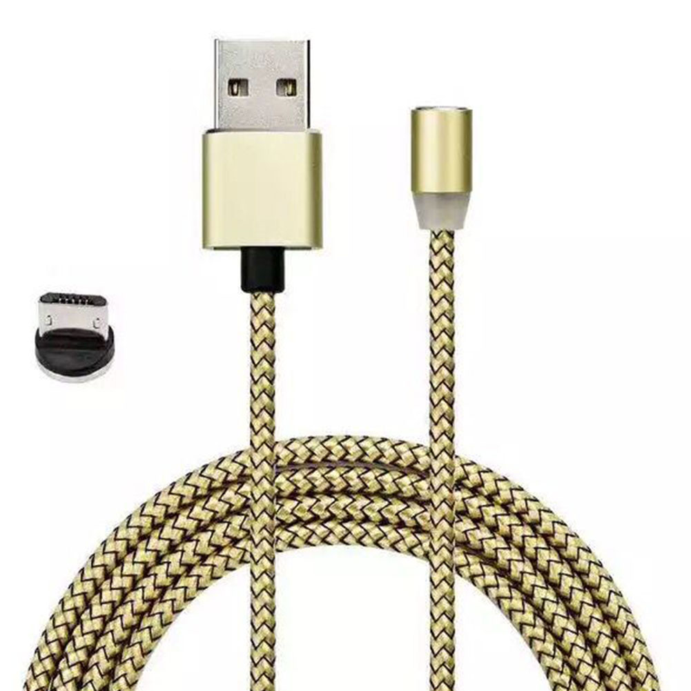18EB-Braided-Magnetic-Micro-USB-Charger-Charging-Cable-For-Android-Phone