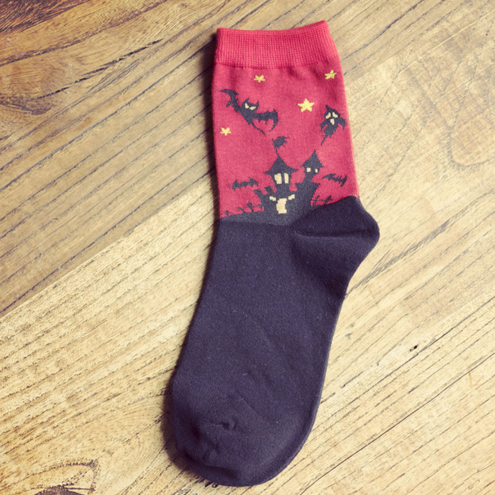 3686-Sock-Gifts-Cotton-Hosiery-Plain-Athletic-Casual-Stretch-Women-039-s-Calf-Warm