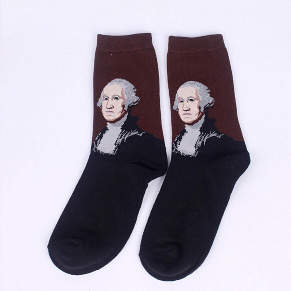 D930-Fashion-Retro-Vintage-Unisex-Women-Men-Art-Painting-Funny-Novelty-Socks