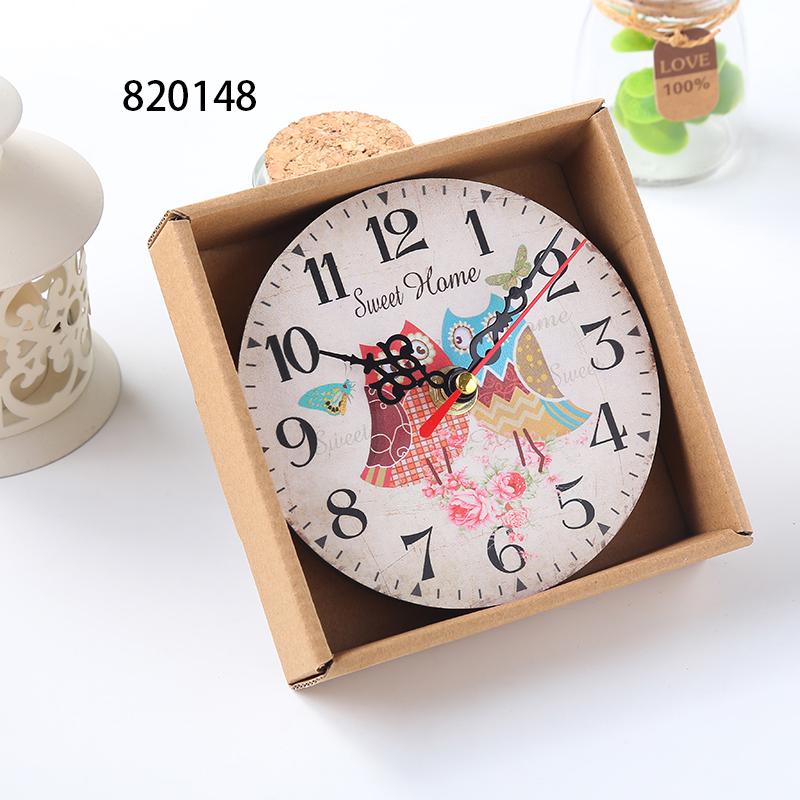 3C42-Home-Room-Antique-Decor-Wall-Clocks-Decoration-Clock-Shabby-Chic-Kitchen