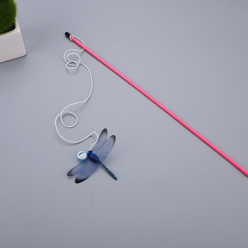 C732-Dragonfly-Teaser-Pet-Cat-Interactive-Toy-Wand-Fun-Funny-Exercise-Tease