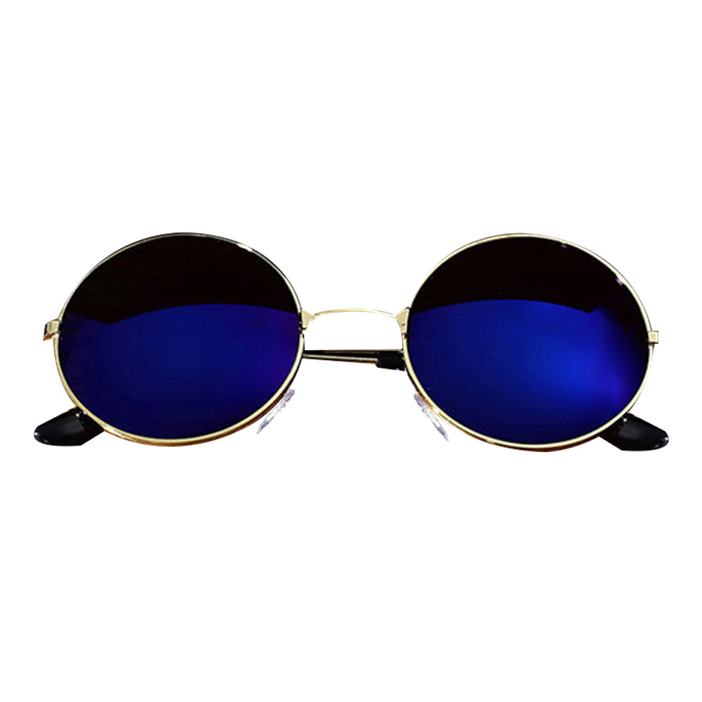 1A12-Unisex-Sunglass-UV400-Metal-Round-Eye-Glasses-Retro-Spectacles-Optical