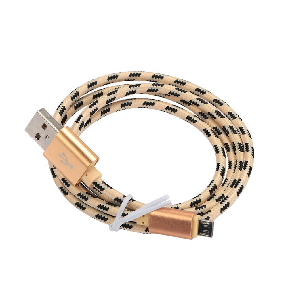 367D-Nylon-Braided-2A-Micro-USB-Data-Cable-Sturdy-Premium-Durable-Line