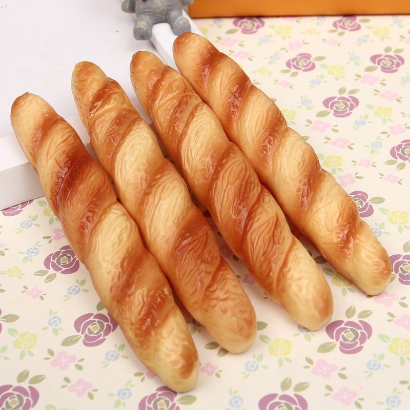 ED91-Creative-Novelty-Pizza-Hot-Dog-Bread-Ballpoint-Pen-Black-Ink-Horn-Supply