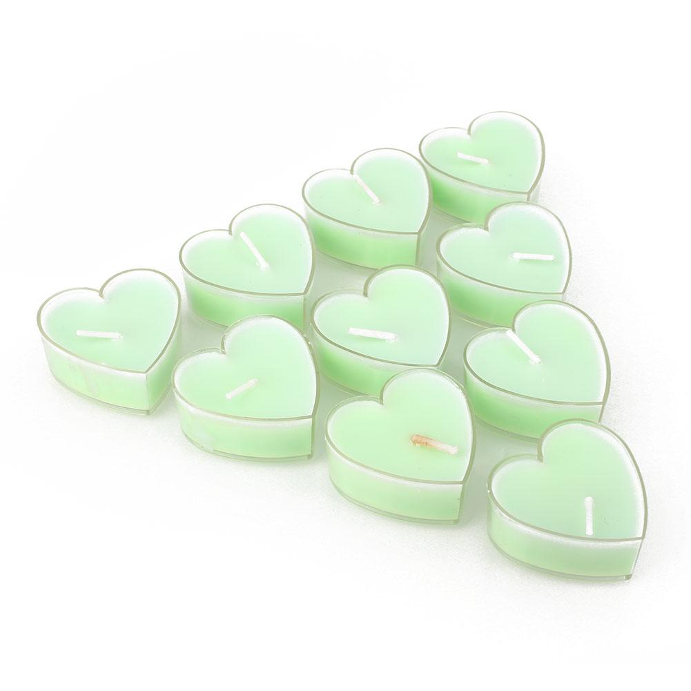 242B-Wax-Candle-Decorating-Romantic-6-Color-10pcs-Party-Ornament