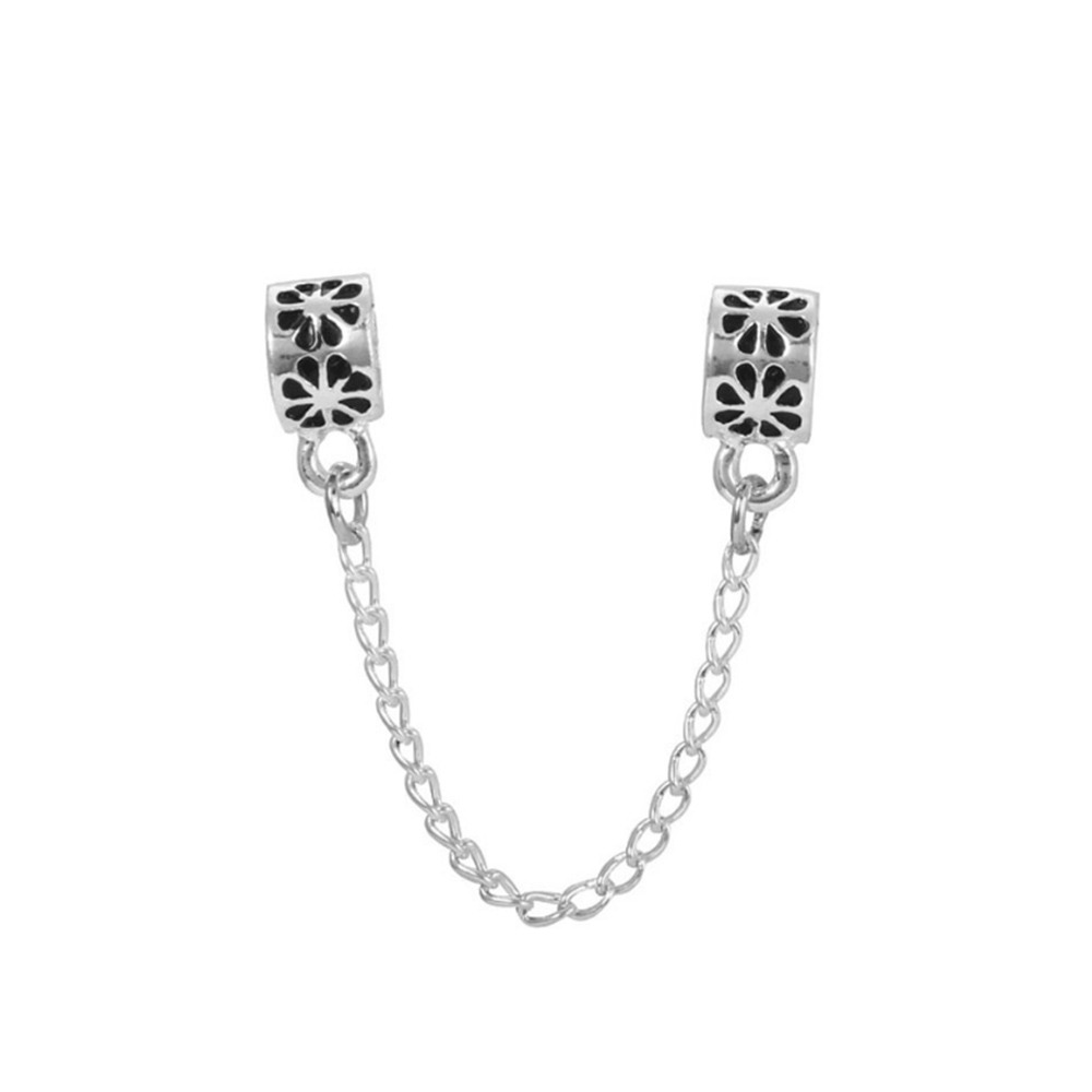 E483-Charms-Beads-Safety-Chain-Handmade-DIY-Alloy-Silver-Accessories-Jewelry