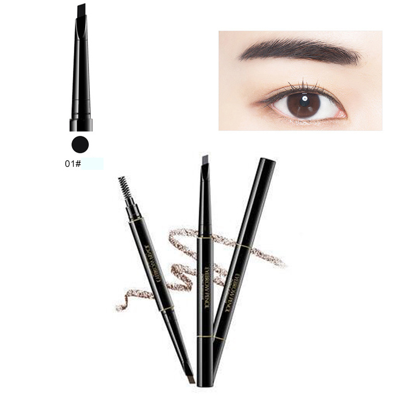 F711-Double-Headed-Eyebrow-Pencil-With-Brush-Smooth-Health-Beauty-Makeup-Tool