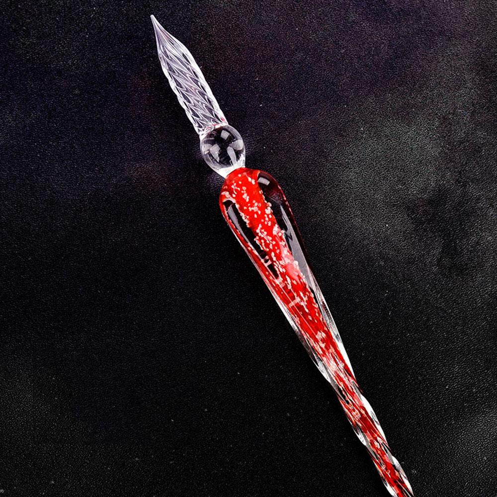 482A-Luminous-Writing-Tools-Noctilucent-Pen-Crystal-Ink-Dip-Pen-Vintage-Elegant