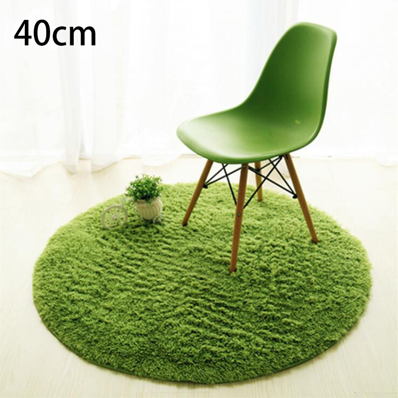 5E51-Fluffy-Bedroom-Room-Stuffed-Carpet-Shaggy-Rug-Home-Plush-Round-Floor-Mat