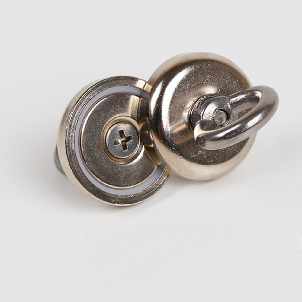 36B6F3D-Metal-Silver-Durable-Sturdy-Detector-Rings-Strong-Magnetic-Sucker-203F