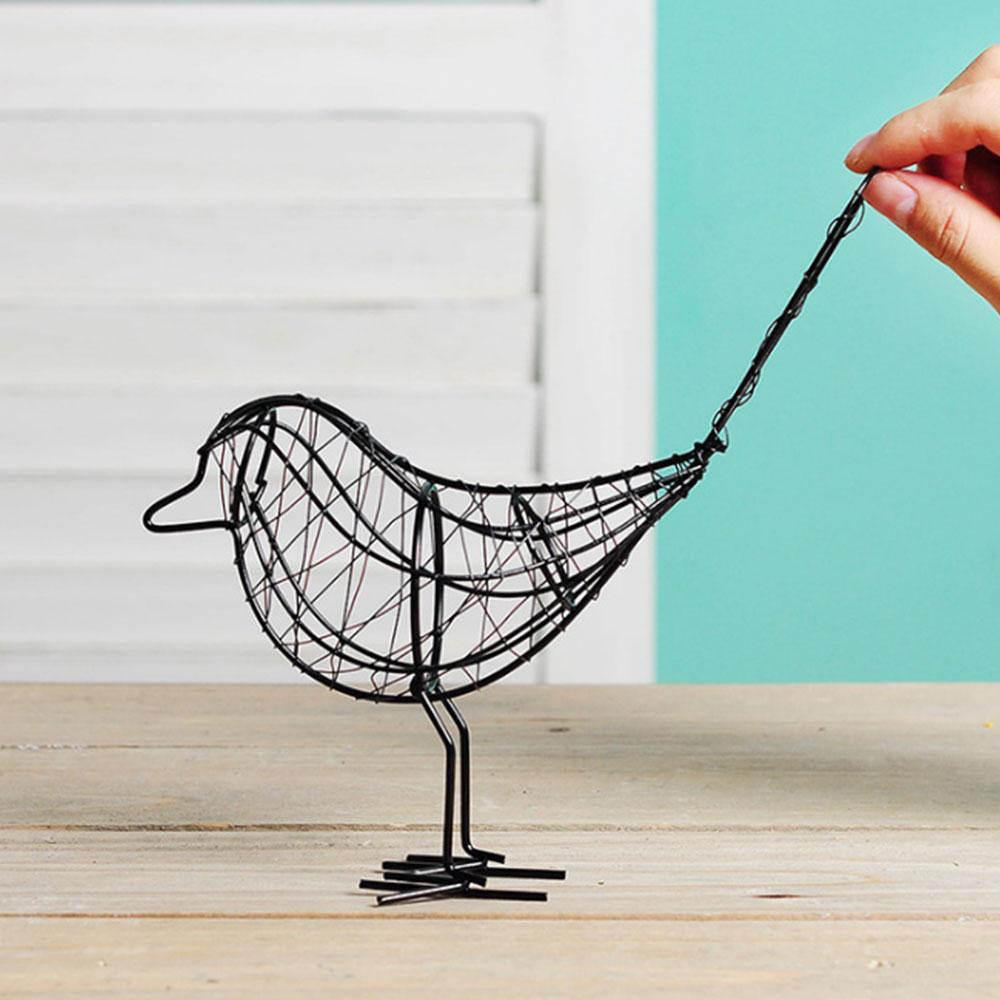 75A8-Contemporary-Metal-Wire-Iron-Bird-Iron-Wire-Bird-Decoration