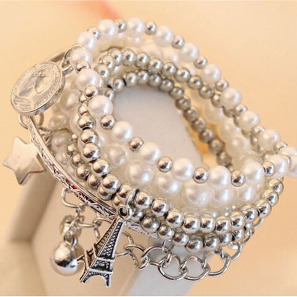 858A-Pearl-Multilayer-Accessories-Charm-Beauty-Lady-Fashion-Elegant-Bracelet
