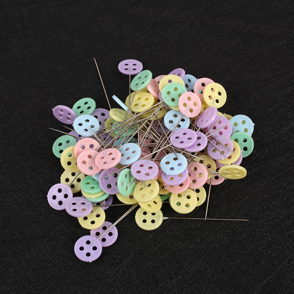 174A-100pcs-Box-Decoration-Corsage-DIY-Head-Pins-Universal-Fixed-Pins-Weddings