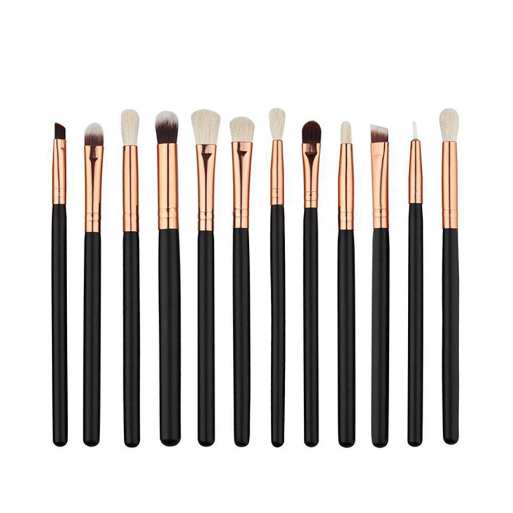 DEED-12pcs-Eyeshadow-Concealer-Eyeliner-Blending-Eyebrow-Eye-Lip-Brush-Set-UK