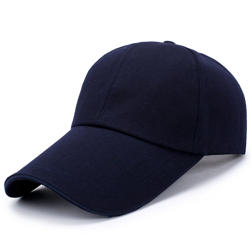 D50B-Plain-Baseball-Cap-Solid-Blank-Curved-Hat-Peak-Caps-Adjustable-Army-Summer