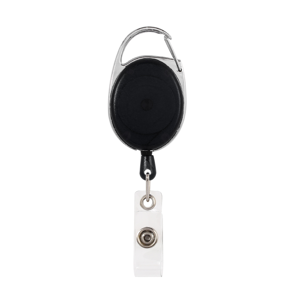 91EB-Badge-Reel-amp-Id-Card-Holder-Retractable-Photo-Identity-Pass-card-case