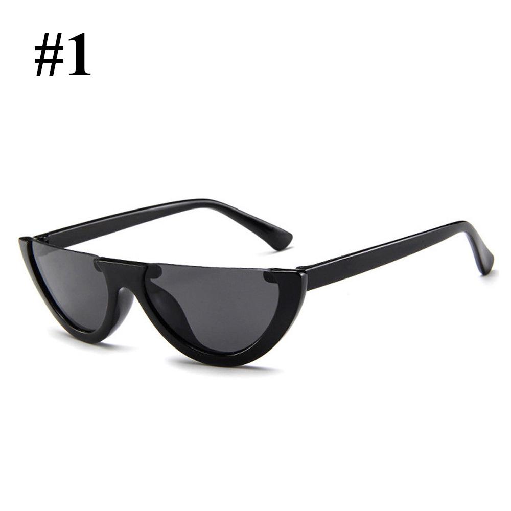 DB88-2018-Half-Frame-Cat-Eye-Sunglasses-Sexy-Ladies-Fashion-Eyewear-Retro-HD
