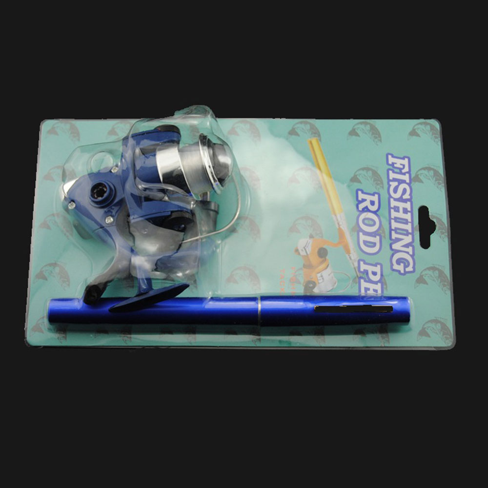 AD55-Fishing-Rod-Pen-Fish-Rod-Durable-Practical-Carbon-5-Color-Casting-Rod